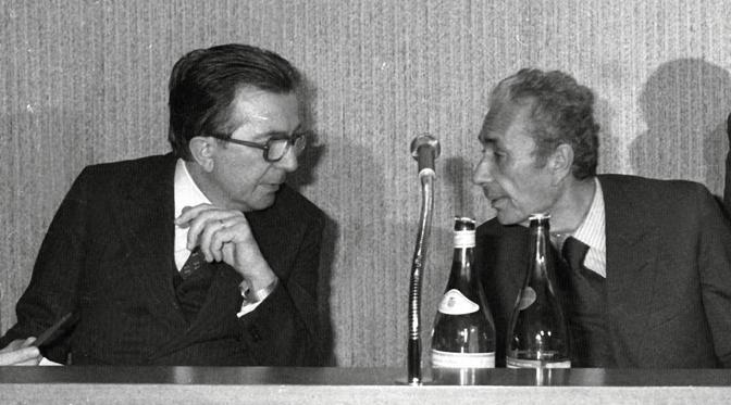 Andreotti e Moro