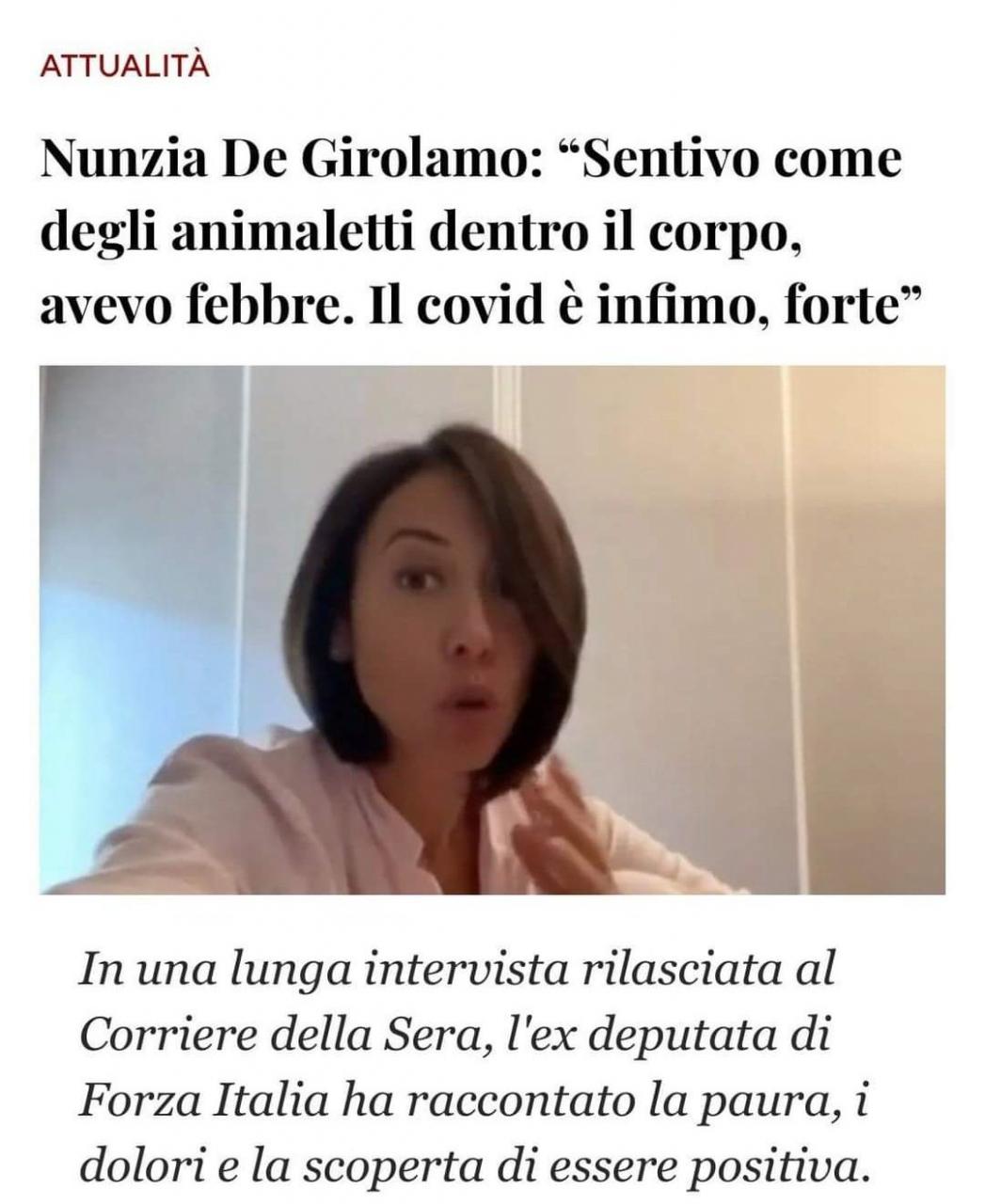 Nunzia De Girolamo