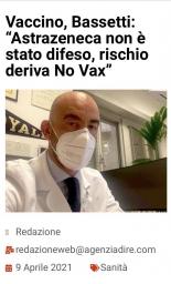 Da non dimenticare - Matteo Bassetti 9 aprile 2021