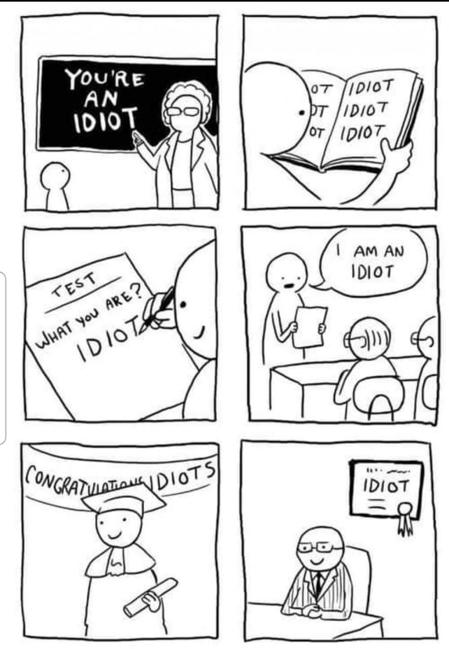 Idiota indottrinato