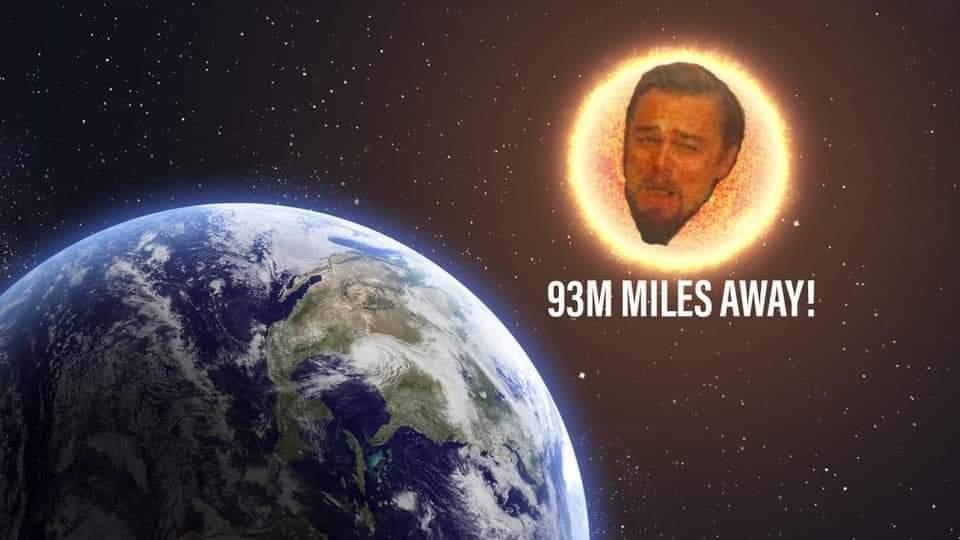 93M Miles away!