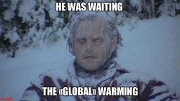 Aspettando il riscaldamento globale